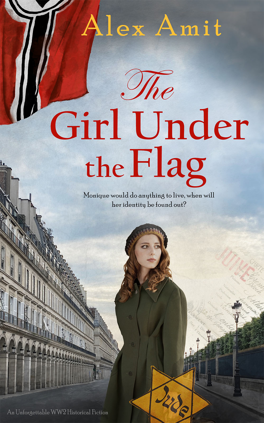The Girl Under the Flag